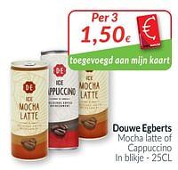 Douwe egberts mocha latte of cappuccino-Douwe Egberts
