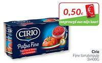 Cirio fijne tomatenpulp-CIRIO