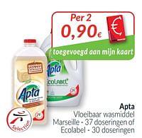 Apta vloeibaar wasmiddel marseille of ecolabel-Apta