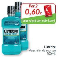 Listerine verschillende soorten-Listerine