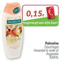 Palmolive douchegel amandel + melk of arganolie-Palmolive
