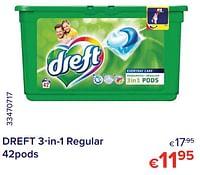Dreft 3-in-1 regular-Dreft