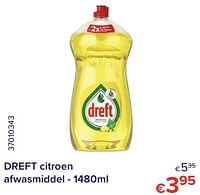 Dreft citroen afwasmiddel-Dreft