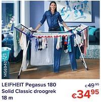 Leifheit pegasus 180 solid classic droogrek-Leifheit