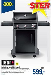 Gasbarbecue spirit e-310 original-Weber