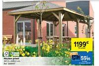 Houten prieel-Huismerk - Carrefour