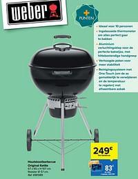 Houtskoolbarbecue original kettle-Weber