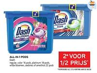 All-in-1 pods dash 2e voor 1-2 prijs-Dash
