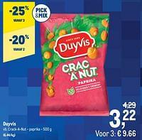 Duyvis crack-a-nut - paprika-Duyvis