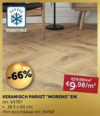 Keramisch parket moreno eik-Huismerk - Zelfbouwmarkt