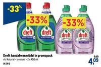 Dreft handafwasmiddel natural - lavendel-Dreft