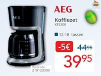 Aeg koffiezet kf3300-AEG