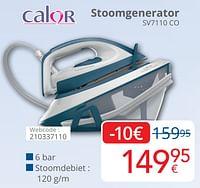 Calor stoomgenerator sv7110 co-Calor
