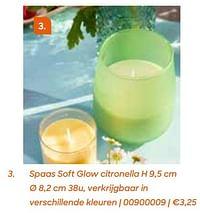 Spaas soft glow citronella-Spaas