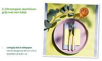 Lichtgrijs gala-tafelpapier met linnengevoel-Huismerk - Ava