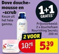 Douchefoam nourishing secrets-Dove