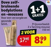 Tanning mousse-Dove