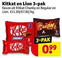 Kitkat en lion-Nestlé
