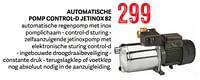 Dab automatische pomp control-d jetinox 82-Dab
