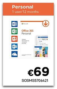 Office 365 personal-Microsoft