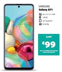 Samsung galaxy a71-Samsung