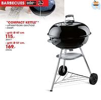 Barbecue compact kettle-Weber