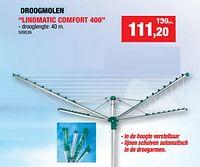 Droogmolen linomatic comfort 400-Leifheit