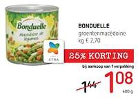 Bonduelle groentenmacédoine-Bonduelle