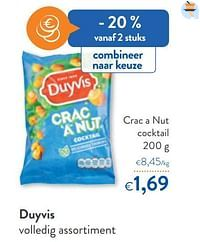 Duyvis crac a nut cocktail-Duyvis