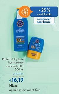 Nivea protect + hydrate hydraterende zonnemelk 50+-Nivea