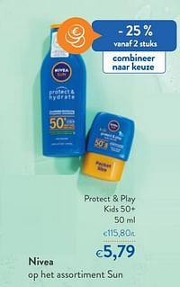 Nivea protect + play kids 50+-Nivea
