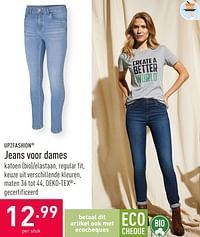 Jeans voor dames-UP2Fashion