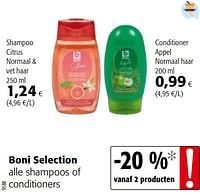 Boni selection alle shampoos of conditioners-Boni