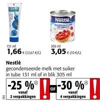Nestlé gecondenseerde melk met suiker-Nestlé