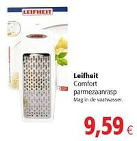 Leifheit comfort parmezaanrasp-Leifheit