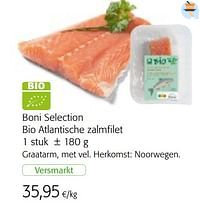 Boni selection bio atlantische zalmfilet-Boni
