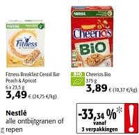 Nestlé alle ontbijtgranen of repen-Nestlé