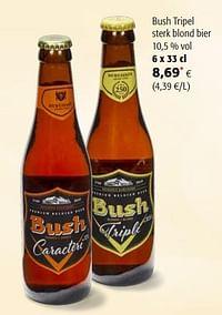 Bush tripel sterk blond bier-Bush