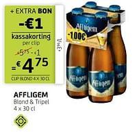 Affligem blond + tripel-Affligem