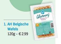 Ah belgische wafels-Huismerk - Albert Heijn