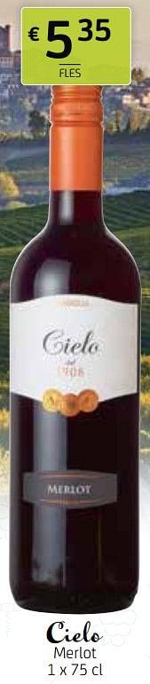 Cielo merlot-Rode wijnen