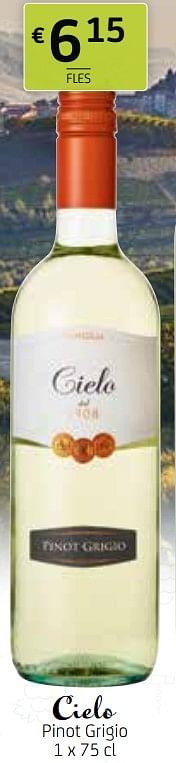 Cielo pinot grigio-Witte wijnen