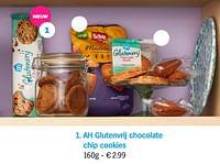 Ah glutenvrij chocolate chip cookies-Huismerk - Albert Heijn
