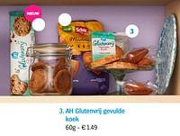 Ah glutenvrij gevulde koek-Huismerk - Albert Heijn