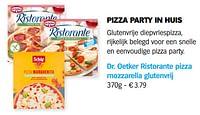 Dr. oetker ristorante pizza mozzarella glutenvrij-Dr. Oetker
