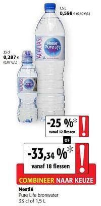 Nestlé pure life bronwater-Nestlé