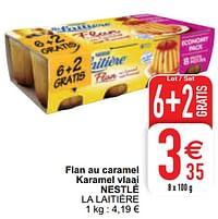 Flan au caramel karamel vlaai nestlé la laitière-Nestlé
