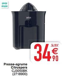 Braun presse-agrume citruspers cj3050bk-Braun