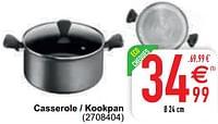 Casserole - kookpan-Tefal