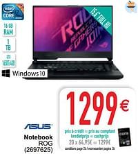 Asus notebook rog-Asus